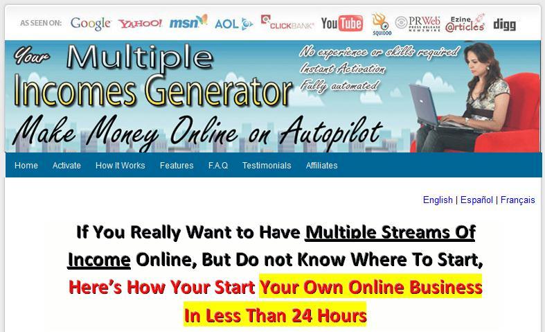 Multilingual Multi Profit Websites